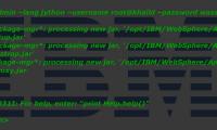 Créer une authentification J2C avec Jython