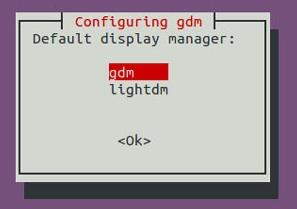 config-gdm